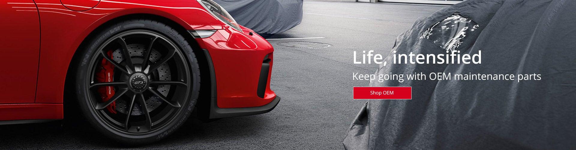 OEM Porsche Maintenance Parts
