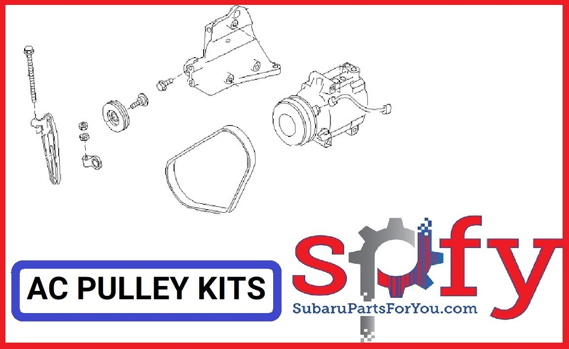 AC Pulley Kit