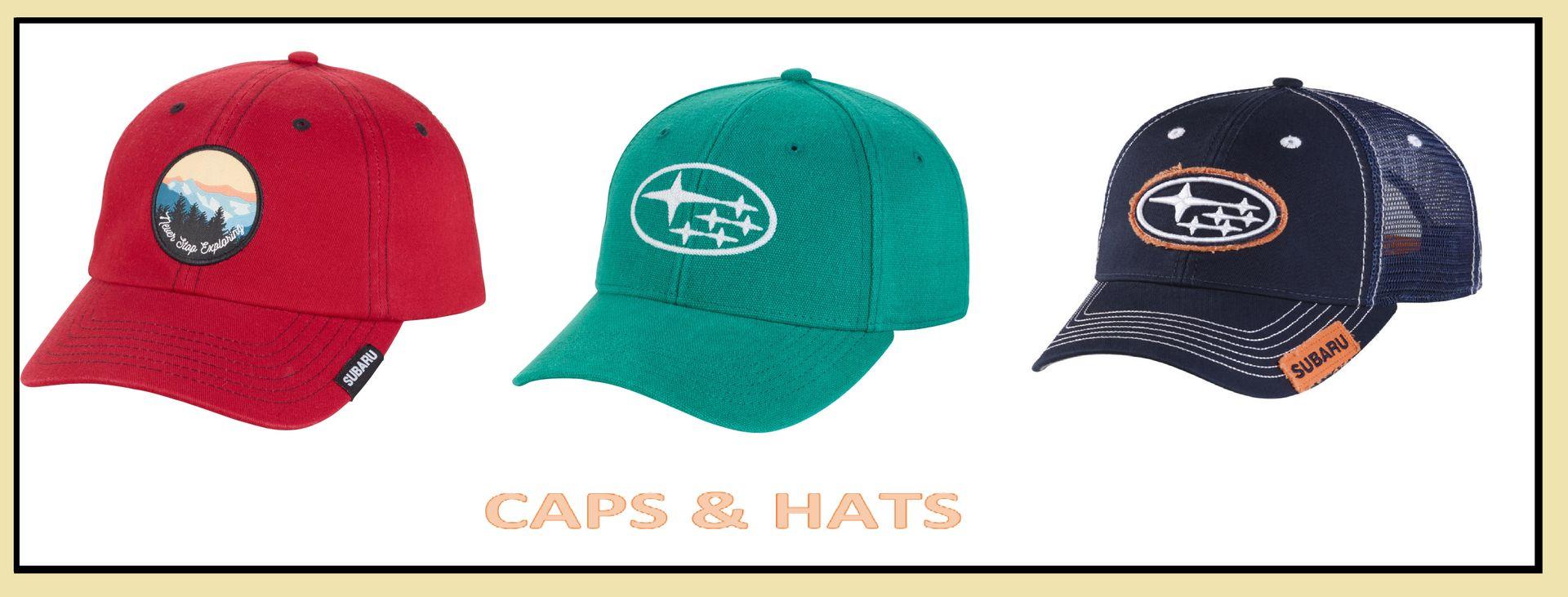 Subaru Caps & Hats